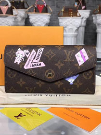 Louis vuitton monogram canvas sarah wallet m60531