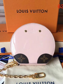 Louis vuitton vernis leather micro boite chapeau purse M63848 pink