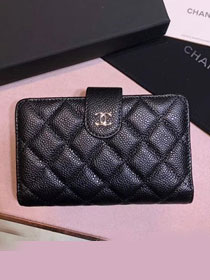 CC original calfskin wallet A81433 black