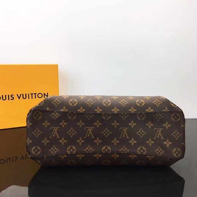 2019 louis vuitton original monogram canvas rivoli pm handbag M44546