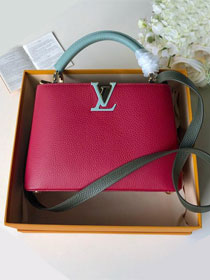 2019 louis vuitton original calfskin capucines bb M52990 burgundy