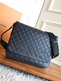 Louis vuitton original Damier Infini leather district pm N42438