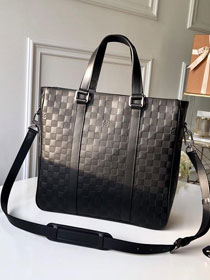 Louis vuitton original monogram calfskin tadao pm n41269 black