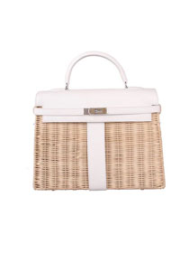 2019 Hermes original picnic mini kelly 20 bag H50002 white
