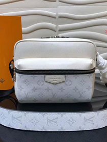 Louis vuitton original monogram outdoor messenger bag M30243 white
