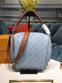 2019 louis vuitton original mahina leather babylone M53153 light blue