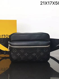 Louis vuitton original monogram outdoor bumbag M30245 black