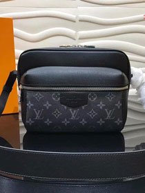 Louis vuitton original monogram outdoor messenger bag M30239 black
