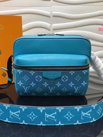 Louis vuitton original monogram outdoor messenger bag M30239 blue