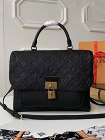2019 louis vuitton original monogram empreinte marignan M44544 black