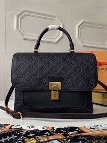 2019 louis vuitton original monogram empreinte marignan M44545 navy blue
