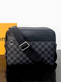 2019 louis vuitton original damier graphite trocadero Messenger bag pm N40087
