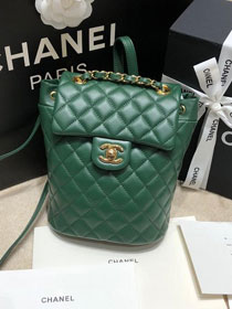 CC original calfskin small backpack A69964 green