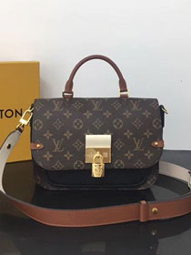 2019 louis vuitton original monogram canvas versatile bag M44354 black
