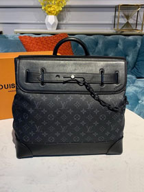 Louis vuitton original monogram eclipse steamer pm m44472