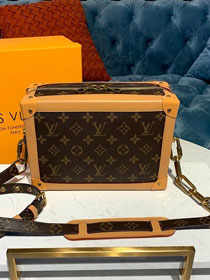 2019 louis vuitton original monogram soft trunk m44478 coffee