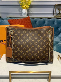 2019 louis vuitton original monogram canvas surene mm M44540 caramel