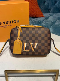 2019 louis vuitton original damier ebene santa monica bag N40178 yellow