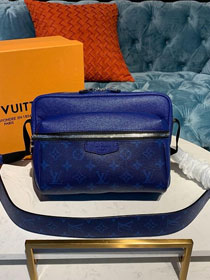 Louis vuitton original monogram outdoor messenger bag M30242 blue