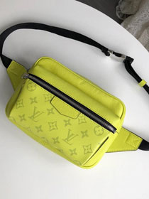 Louis vuitton original monogram outdoor bumbag M30245 lemon yellow
