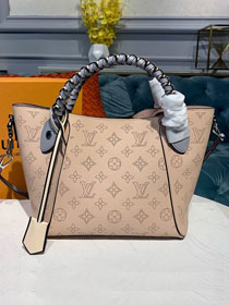 2019 louis vuitton original mahina leather hina pm M53938 apricot