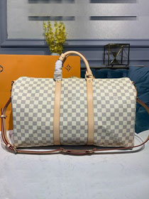 Louis vuitton original damier azur keepall 50 bag N41427
