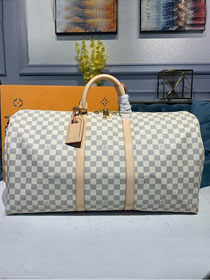 Louis vuitton original damier azur keepall 55 bag N41429