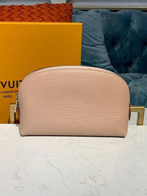 Louis vuitton original epi leather cosmetic pouch m60024 nude