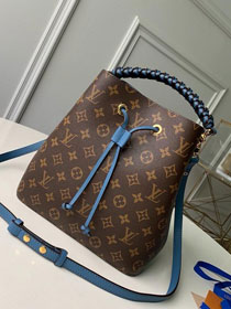 2019 louis vuitton original monogram neonoe M43985 blue
