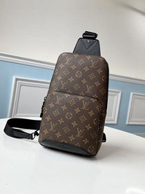 Louis vuitton original monogram canvas avenue sling bag m41718