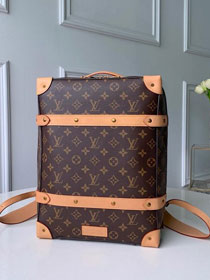 Louis vuitton original monogram soft trunk backpack M44752