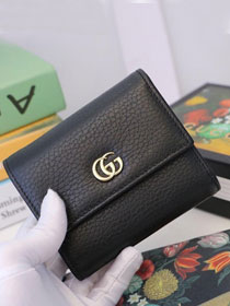 GG calfskin wallet 546584 black