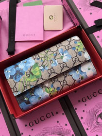 GG canvas wallet 404070 blue