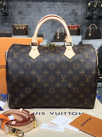 Louis vuitton original handmade monogram canvas speedy 30 M41112