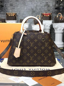 Louis vuitton original handmade monogram canvas montaigne BB M41055