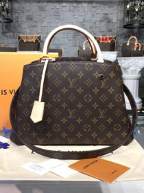 Louis vuitton original handmade monogram canvas montaigne bag mm M41056