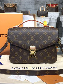 Louis vuitton original handmade monogram canvas pochette metis m40780