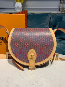 2019 louis vuitton original monogram LV Pop print tambourin handbag M55460 pink