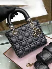 Dior original grained calfskin my dior bag M5055 black