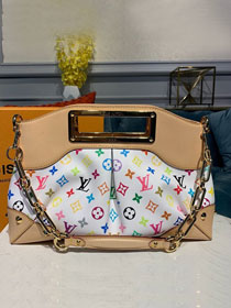 Louis vuitton original monogram multicolor tote bag M40255 white