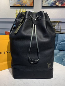 2020 louis vuitton original calfskin sac noe backpack M55171 black