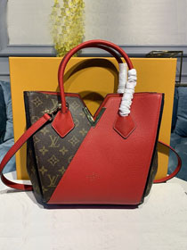 2020 louis vuitton original monogram small kimono bag M41855 red