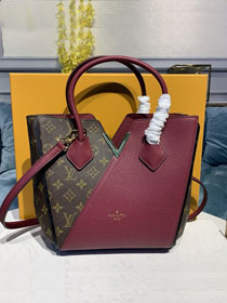 2020 louis vuitton original monogram small kimono bag M41856 burgundy