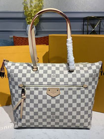 Louis vuitton original damier azur iena mm tote bag n44010