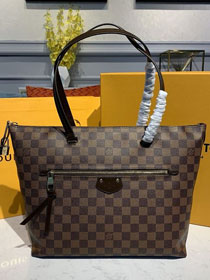 Louis vuitton original damier ebene iena mm tote bag n41013