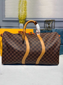 Louis vuitton original monogram canvas keepall 50 bag M44880