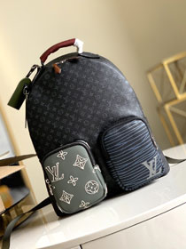 Louis vuitton original monogram eclipse backpack M56851