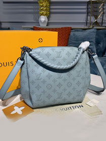 Louis vuitton original mahina leather babylone M55907 light blue