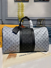 Louis vuitton original monogram reverse keepall 50 M43818