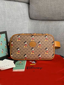 GG original canvas disney belt bag 602695 brown